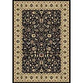 Anoosha Allover Sarouk Black Rug (7'10 x 10'10)