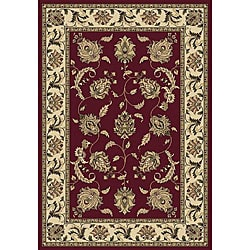 Anoosha Allover Kashan Red Rug (7'10 x 10'10)