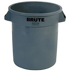Rubbermaid Commercial 10 Gallon Green Brute Container