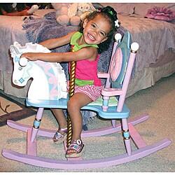 Kiddie-Ups Carousel Rocking Horse
