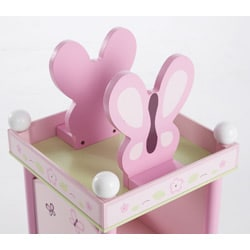 Sugar Plum Revolving Bookcase