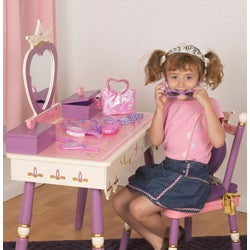 Princess Vanity Table and Chair Set