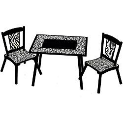Wild Side 3-piece Table and Chair Set