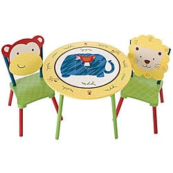 Jungle Jingle Kids' 3-piece Table Set