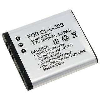 Battery Pack 238944 for Olympus LI-50B (Pack of 2)