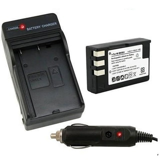 Camera Battery and Charger for Nikon EN-EL9 SLR D60/ D40/ D40x