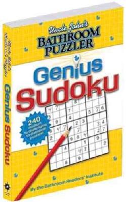 Uncle John's Bathroom Puzzler Genius Sudoku (Paperback)