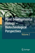 Plant Developmental Biology - Biotechnological Perspectives (Hardcover)