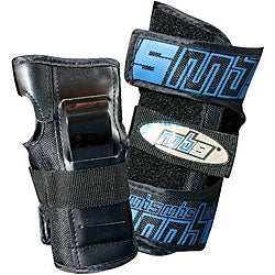 MBS 1200D Nylon Pro Wrist Guards with Velcro Straps (Size XL)