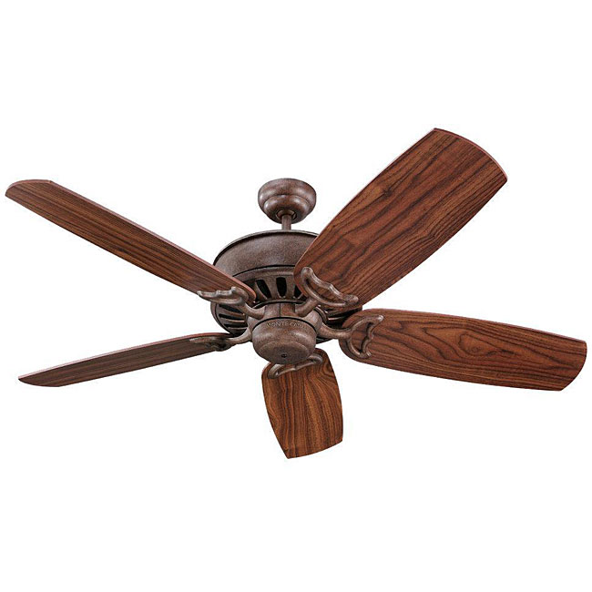 Monte Carlo Avanti 52-inch British Bronze Finish Ceiling Fan