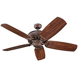 Avanti 52-inch British Bronze Finish Ceiling Fan