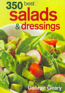 350 Best Salads & Dressings (Paperback)