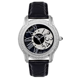Joe Rodeo Unisex Beverly Steel Diamond Watch