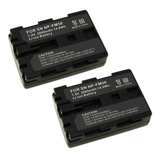 Sony 202370 Two Battery Pack