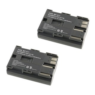 INSTEN Battery for Canon BP-511 (Pack of 2)