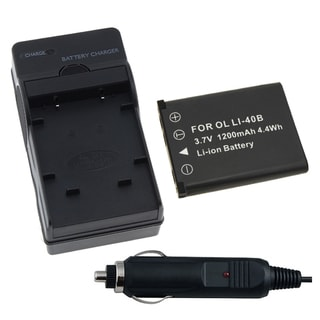 Battery and Charger 250378 for Nikon Coolpix S210