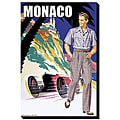 S. Pierce '50's Men's Retro Fashion - Monaco' Giclee Canvas Art