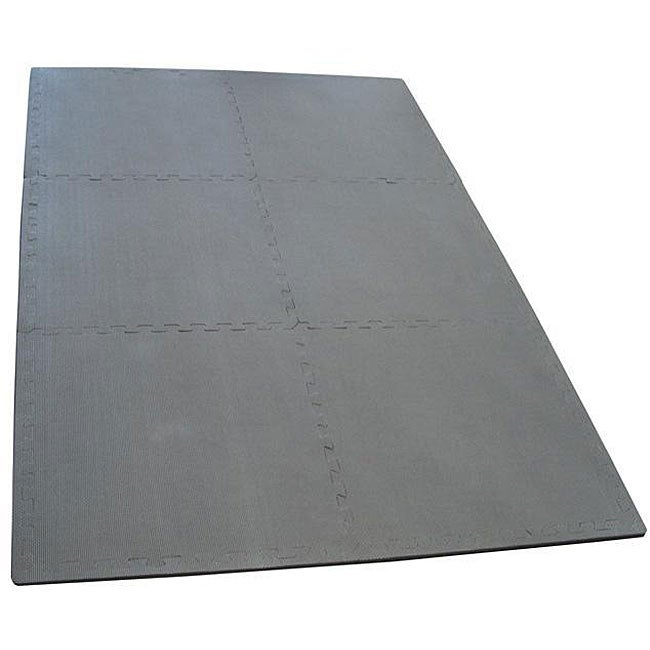 Charcoal 48-square-foot Anti-fatigue EVA Foam Exercise Mat