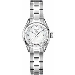 Tag Heuer Women's WV1411.BA0793 Carrera Stainless Steel Diamond White Watch