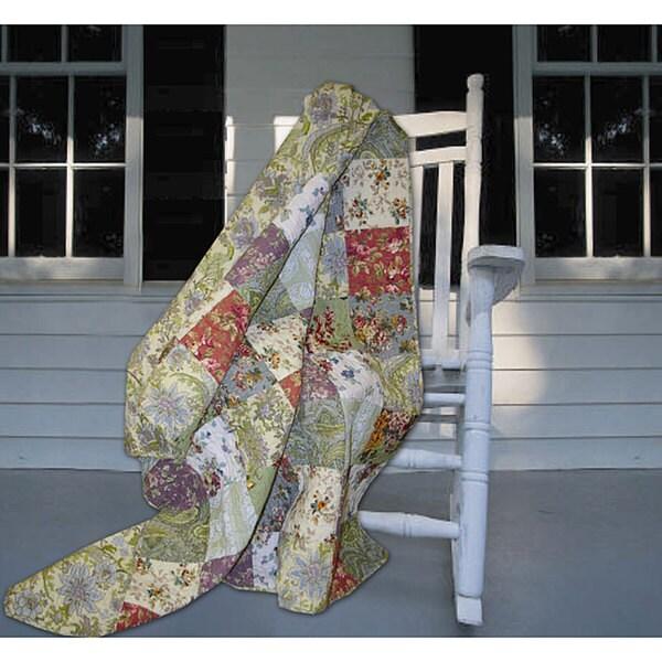 Greenland Home Fashions Blooming Prairie Throw 12353121
