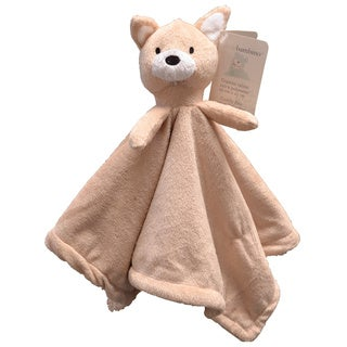 Piccolo Bambino Beige Squirrel Cuddly Pal with Soft Blanket Body