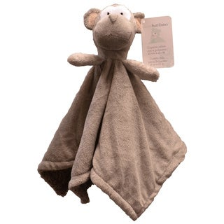 Piccolo Bambino Brown Monkey Cuddly Pal with Soft Blanket Body