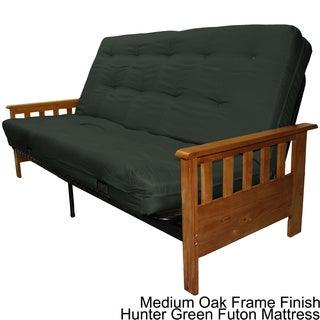 Providence Queen Mission-style Frame/Twill Premier Mattress Futon Set