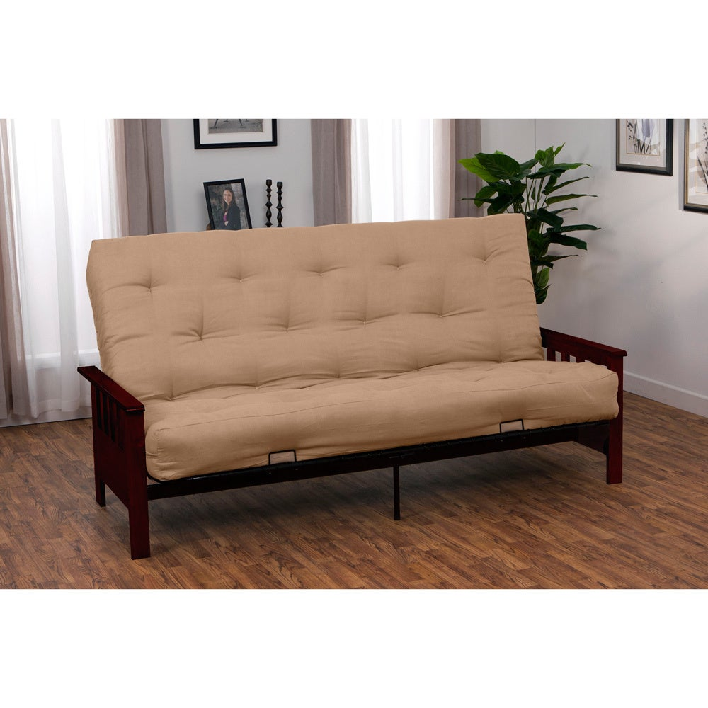 Providence Full Mission-style Frame/Twill Splendor Mattress Futon Set at Sears.com