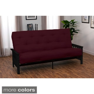 Provo Queen-size Mission-style Inner Spring Mattress Futon Set