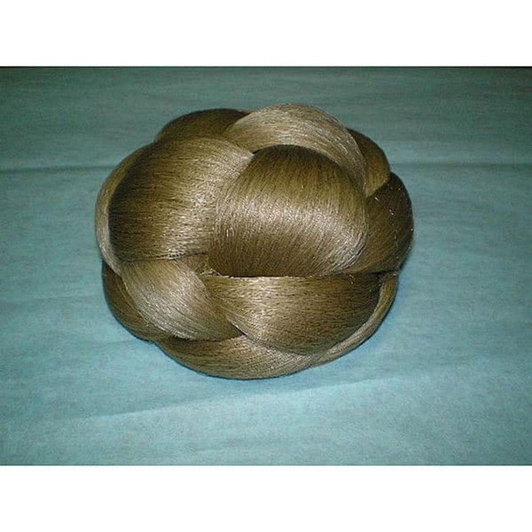 Merrylight Blonde Braided Bun Hair Piece