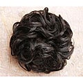 Merrylight Black Wavy Put-on Hair Piece
