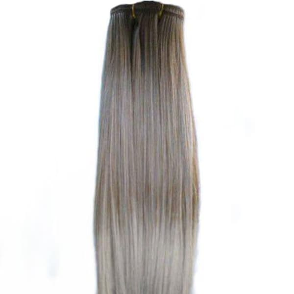 Ten streaks 14-inch Strawberry Blonde Clip-In Straight Hair Extensions
