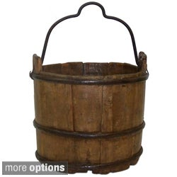 Antique Iron-handle Water Bucket