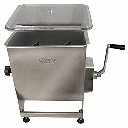 Weston Stainless Steel #44 Meat Mixer