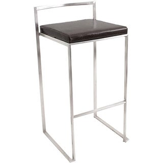 Fuji Black Stacker Bar Stool