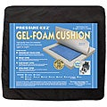 Hudson Pressure Eez Gel-Foam 16x16 Nylon Wheelchair Seat Cushion