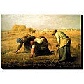Millet 'Gleaners' Canvas Art