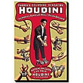 'Houdini: The World's Handcuff King and Prison Breaker' Canvas Art