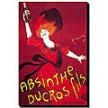 'Absinthe Ducros Fils' Canvas Art