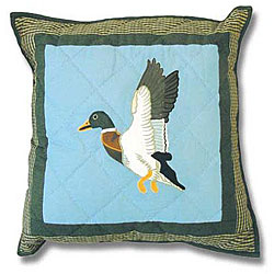 Mallard Throw Pillows (Set of 2)