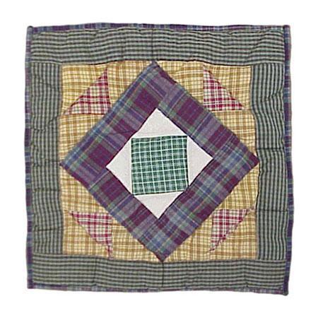 Square Diamond Throw Pillows (Set of 2)