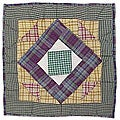 Square Diamond Throw Pillows (Set of 2)