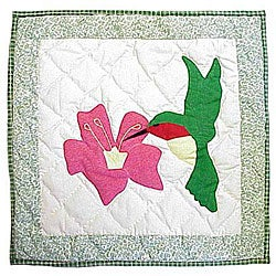 Hummingbird 16-inch Throw Pillows (Set of 2)