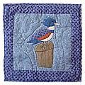 'Beach Bird' 16x16 Throw Pillows and Fillers (Set of 2)