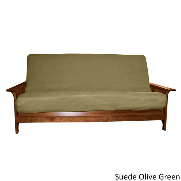 Ultima Full-size Microfiber Soft Suede or Twill Futon Cover