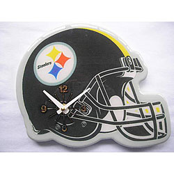 Pittsburgh Steelers Helmet Clock