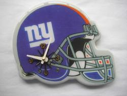 New York Giants Helmet Football-themed Collectible Wall Clock