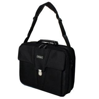 Hummer Ascent Black Business Portfolio Laptop Case