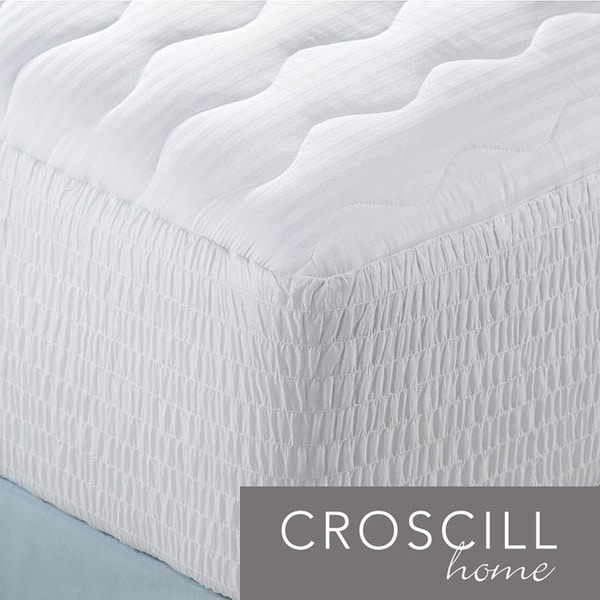 Croscill 300 Thread Count Cotton Mattress Pads (Pack of 3)