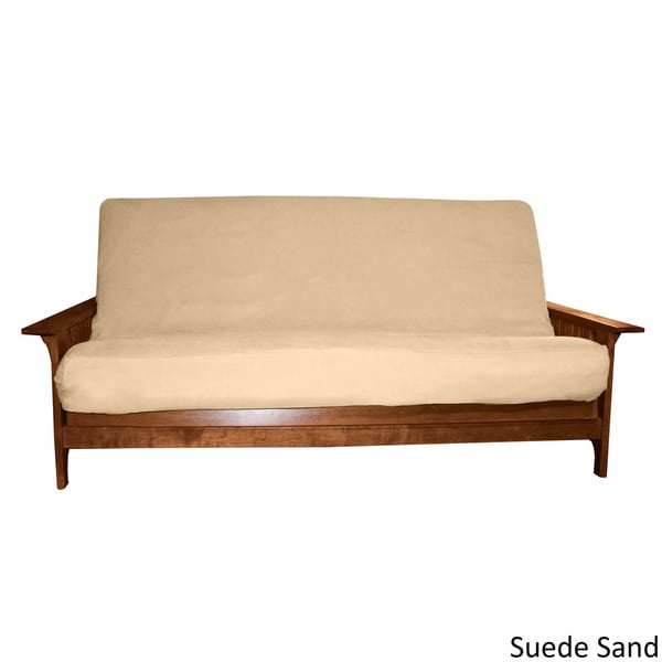Ultima Queen size Microfiber Soft Suede or Twill Futon